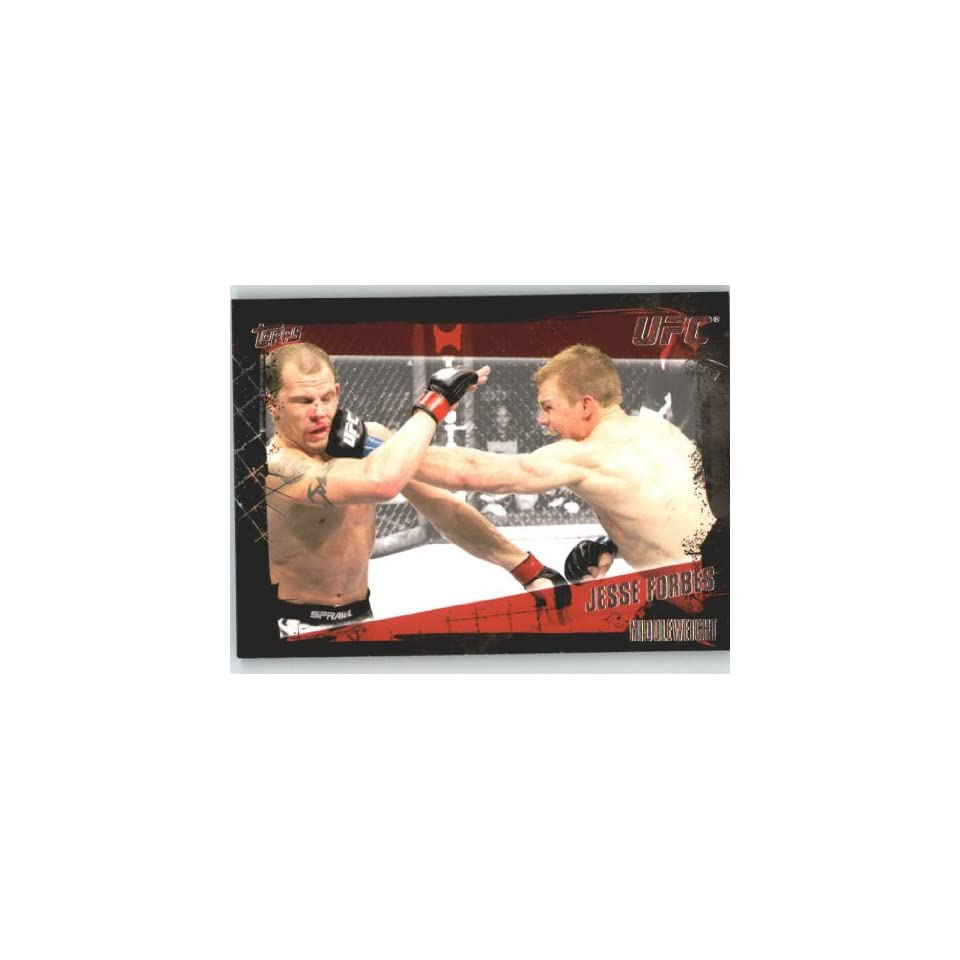 2010 Topps UFC Trading Card # 125 Jesse Forbes (Ultimate
