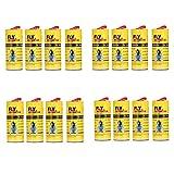 SmartKnow Sticky Fly Paper Strips,Fly Trap, Fly Catcher Trap, Fly Paper Ribbons,Fly Catcher Ribbon, Fly Bait(16PCS)