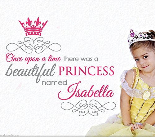 custom-made-color-name-princess-crown-vinyl-wall-decals-decorative-mural-art-girls-room-wall-sticker