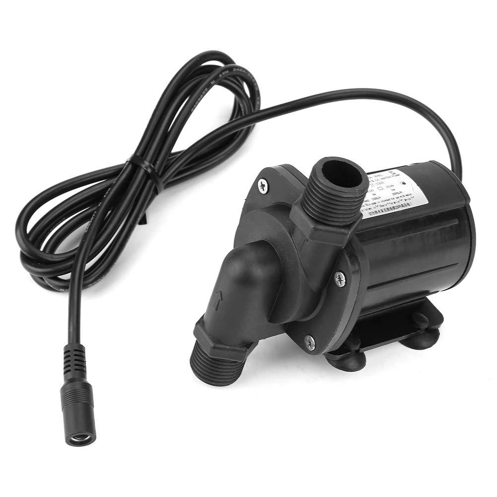 Mini pompe /à eau 12 V DC sans balai t/ête hydraulique submersible ultra silencieuse pour pompe et cabine de bateau