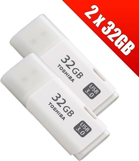 2 X 32 Gb Usb 3 0 Transmemory Flash Drive Weiß Computer Zubehör