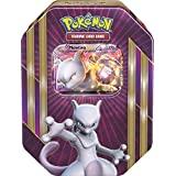 Pokemon TCG Triple Power Tin-Mewtwo-EX Card Game