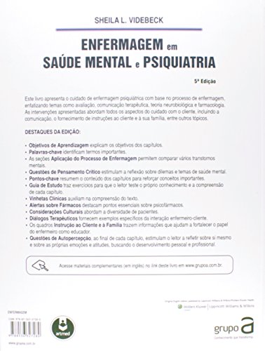 Enfermagem em Saúde Mental e Psiquiatria