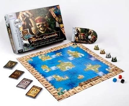 Pirates of The Caribbean: DVD treasure Hunt by Hasbro: Amazon.es: Juguetes y juegos