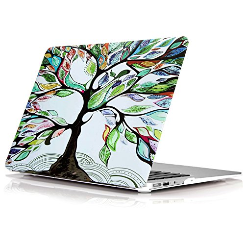 YMIX  Plastic Cover Snap on Hard Protective Case for MacBook Retina 12''(A1534) , #Love Tree by YMIX
