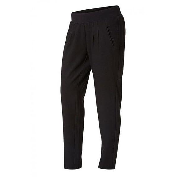 MLNEW BUSINESS PANT, Pantalons - Maternité Femme, Noir (Black), 40 (Taille fabricant: Large)Mama Licious