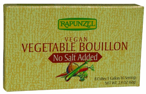 Rapunzel - Vegetable Bouillon Cubes - Sea Salt, 12 Units / 3 oz