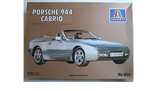 Amazon.com : Italeri Models---Porsche 944 Cabrio Sports Car---Plastic Model Kit : Everything Else