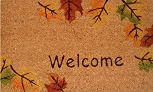 "Home & More 120941729 Autumn Breeze Doormat, 17"" x 29"" x 0.60"", Multicolor"