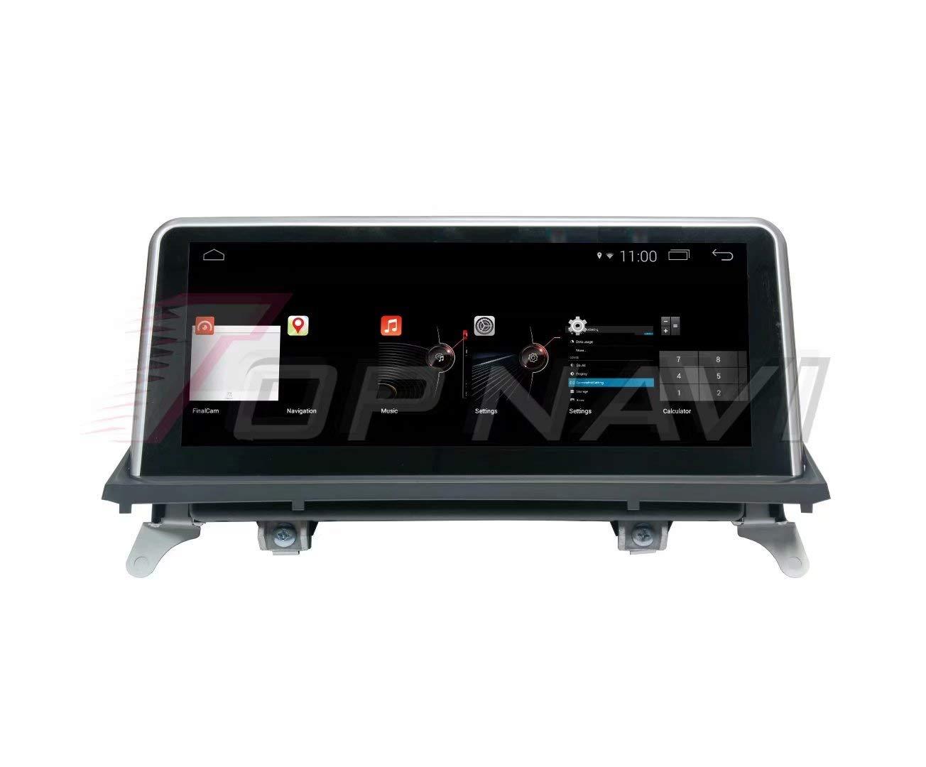 ... ROADYAKO Android 4.4 Reproductor de Coche para BMW X5 E70 F15 F85 2011 2012 X6 E71 F16 F86 2011 2012 Original con AUX GPS para automóvil Estéreo WiFi 3G ...