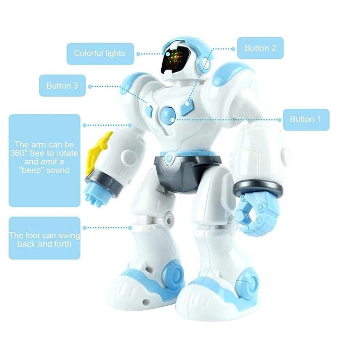 Robot Multifuncional Máscara de juguete con forma de robot de sonido Robot - Juego de equipo de Starry Sky para niño: Amazon.es: Bebé