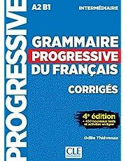 Grammaire progressive du français - Niveau intermédiaire (A2/B1) - Corrigés - 4ème édition: Corriges intermedi
