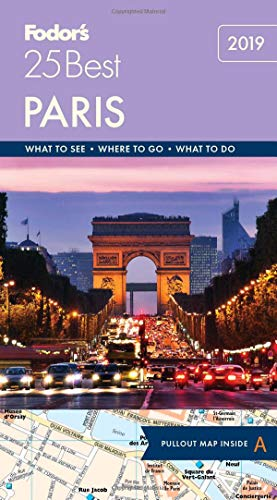 Fodor's Paris 25 Best (Full-color Travel Guide) (Trip Paris)