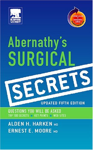 Abernathy's Surgical Secrets, Updated Edition (Book w/ Student Consult)