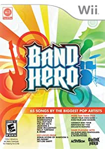 Band Hero Stand Alone Software - Wii Standard Edition