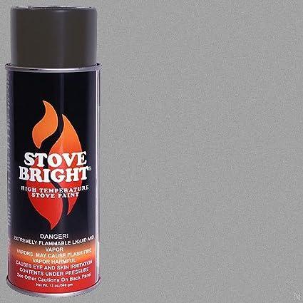 Estufa alta temperatura pintura brillante – peltre