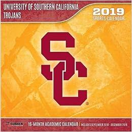 Usc 2019 Calendar USC Trojans 2019 Calendar: Lang Holdings Inc.: 9781469359939