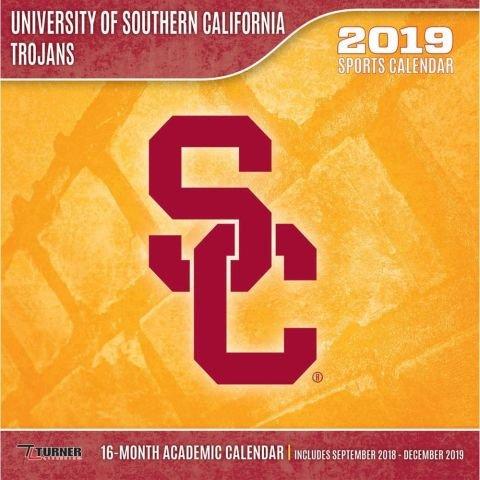Usc Academic Calendar 2019 USC Trojans 2019 Calendar: Lang Holdings Inc.: 9781469359939