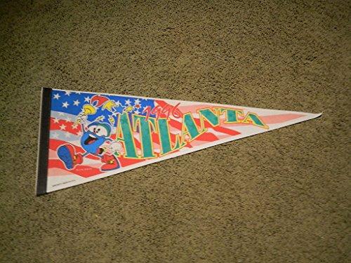 1996 OLYMPIC GAMES ATLANTA PENNANT BANNER ()