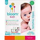 bloom +KIND Jumbo Sensitive Baby Wipes Unscented 8x Box, 640-Count