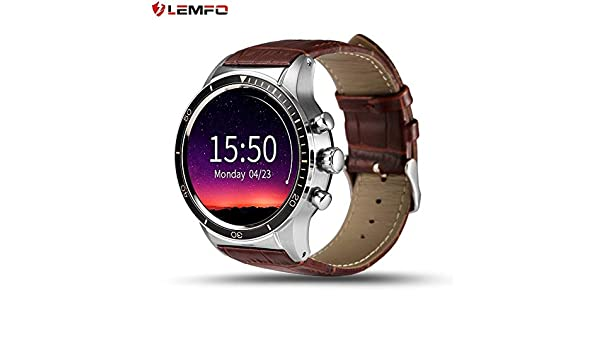 GreatWall Reloj Inteligente LEMFO Y3 para Android Quad Core ...