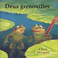 Deux grenouilles par Christopher Wormell