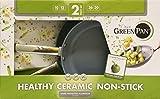GreenPan Hard Anodized Nonstick Ceramic Skillets 2-Pack - 10/12