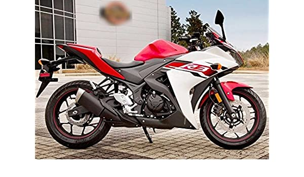 Amazon.com: Red Black White Injection Fairing Cowl Kit for ...