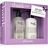 Philosophy Thank You 2 X 8oz Fresh Cream Hand Wash & Hand Lotion For Unisex