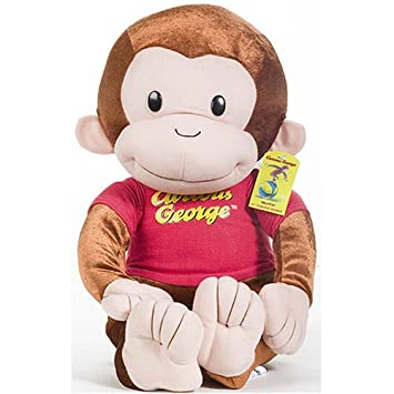 Coco Der Neugierige Affe Plusch Puppe 53cm Amazon De Spielzeug