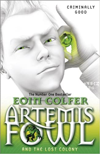 artemis fowl the lost colony read online