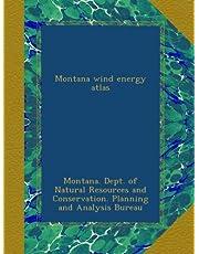 Montana wind energy atlas