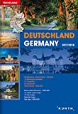 Germany Road Atlas 2017/2018 - Reiseatlas Deutschland 2017/2018 (English and German Edition)