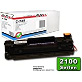 OBV - Cartouche Toner compatible remplace Canon 728 / CRG-728 pour Canon i-SENSYS MF 4410 / MF 4430 / MF 4450 / MF 4550 D / MF 4570 DN / MF 4580 DN