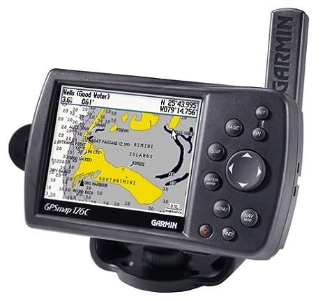 Garmin GPS MAP176C 38 Inch Waterproof Marine And Chartplotter