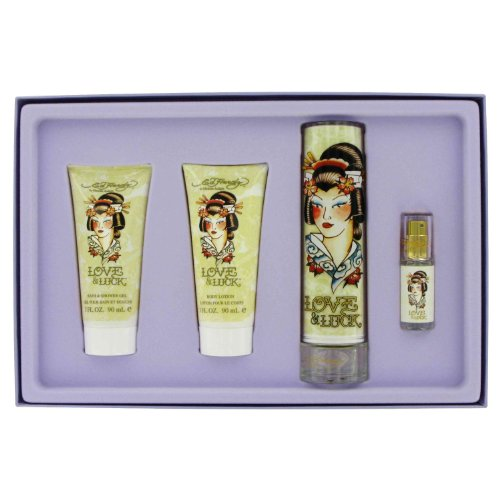ED Hardy Love and Luck 4 Piece Set For Women