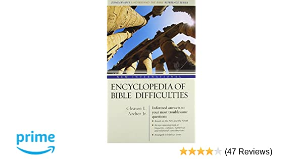 Bible difficulties pdf encyclopedia of