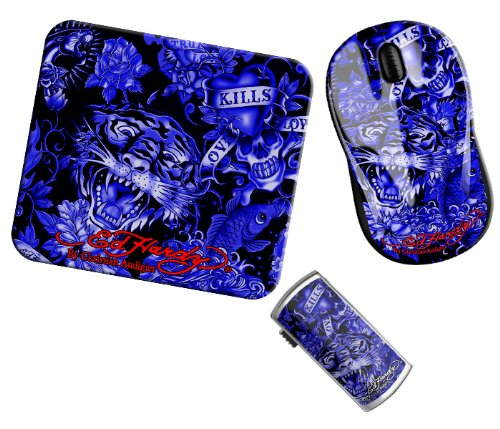 Ed Hardy Limited Edition 8 GB Tattoo Pack (Blue)