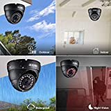 ZOSI 2.0MP FHD 1080p Dome Camera Housing Outdoor