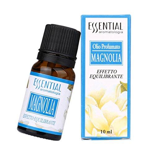 Magnolia Incense - Essential Oils, jinjiu 10ML Pure & Natural Essential Oils Aromatherapy Stress Relief Scented Massage and Body Oils (Magnolia)