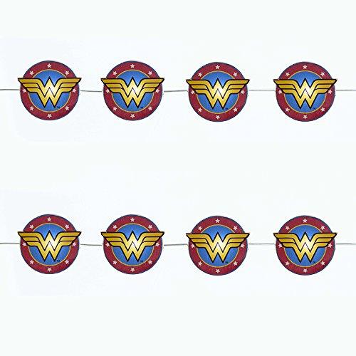 Bundle Pack of 12, Kurt Adler Battery Operated 20 Light Wonder Woman LED Fairy Lites