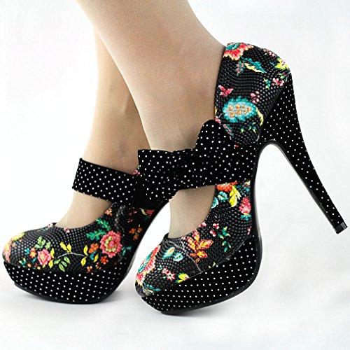 Show Story - Zapatos de tacón  mujer Negro - negro