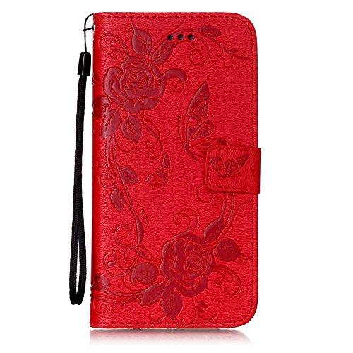 e3c62941ec UNEXTATI iPhone7 Plus ケース PUレザー 手帳型ケース カバー カード収納 iPhone7 Plus 用 Case