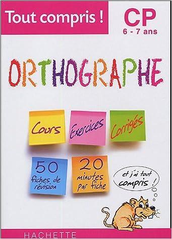 Livres Gratuits Telechargeables Pdf Orthographe Cp 6 7 Ans