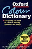 The Oxford Color Dictionary, , 0198603762