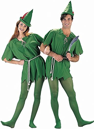 Adult's Peter Pan Costume (Size:X-large 40-42) (Peter Pan Costume Men)