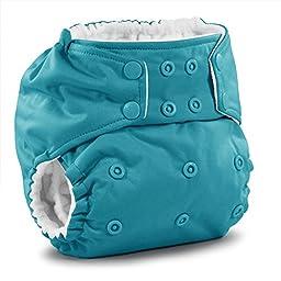 Rumparooz One Size Cloth Pocket Diaper Snap, Aquarius