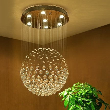 Saint Mossi Crystal Rain Drop Chandelier Modern U0026 Contemporary Ceiling  Pendant Light 6 GU10 LED Bulbs Required ...