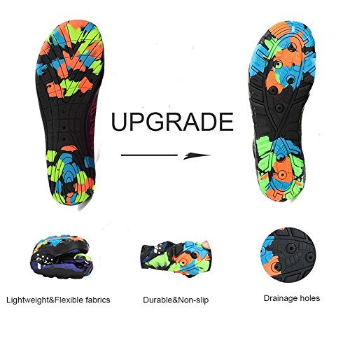 Quick Leyang Surf Water Men Shoes Lightweight Beach Non Pool Yoga Swim Women Socks Slip Dry Multifunction Aqua Shoes Barefoot Purple RTqTxEXwr