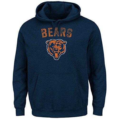 chicago-bears-majestic-nfl-kick-return-2-mens-navy-hooded-sweatshirt-medium